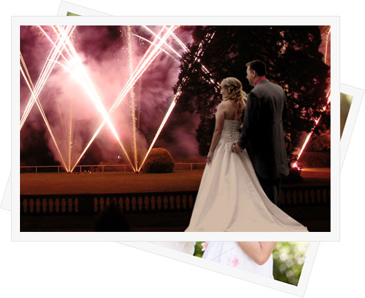 Sonning Wedding Fireworks